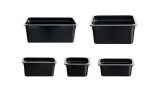 Gastronorm Pans Black Poly