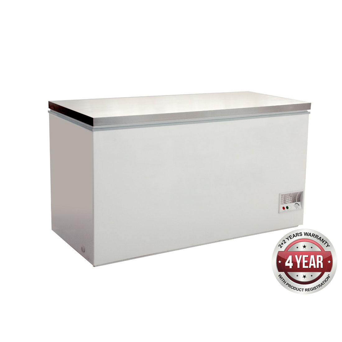 Chest Freezer with SS lids - BD768F