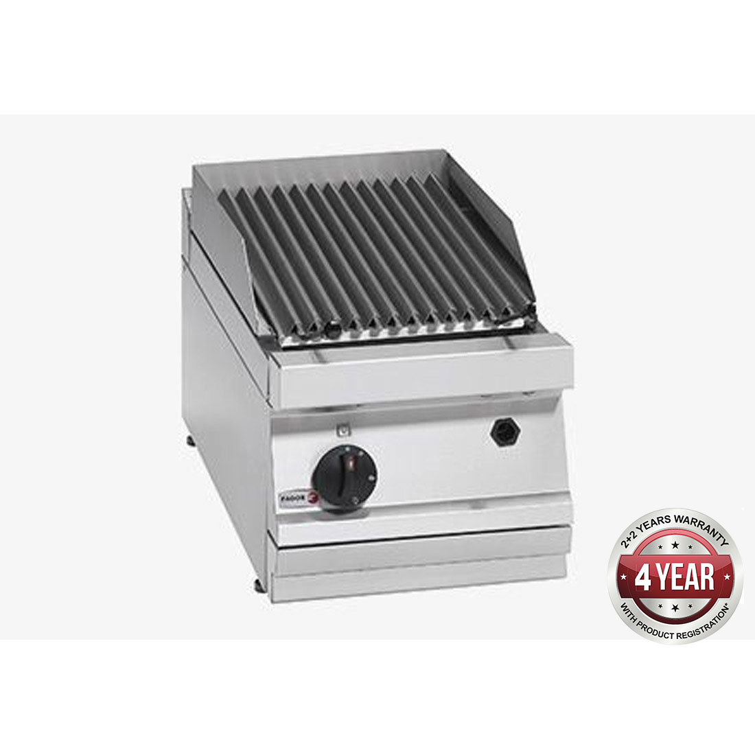 Fagor 700 series - Gas charcoal 1 grid grill BG7-05