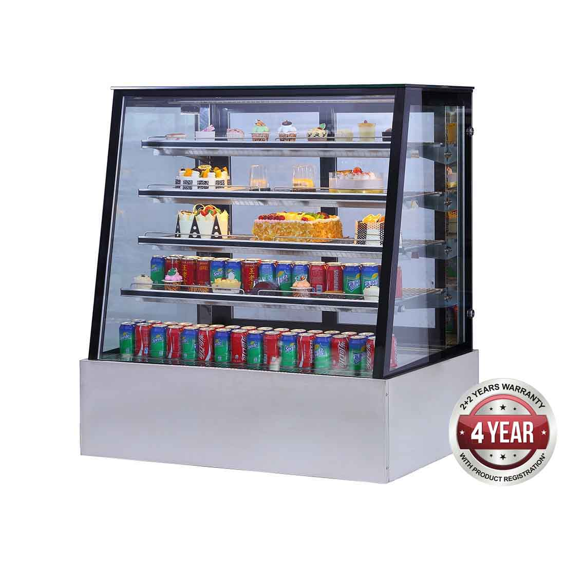 SLP840C Bonvue Deluxe Chilled Display Cabinet 1200x800x1350