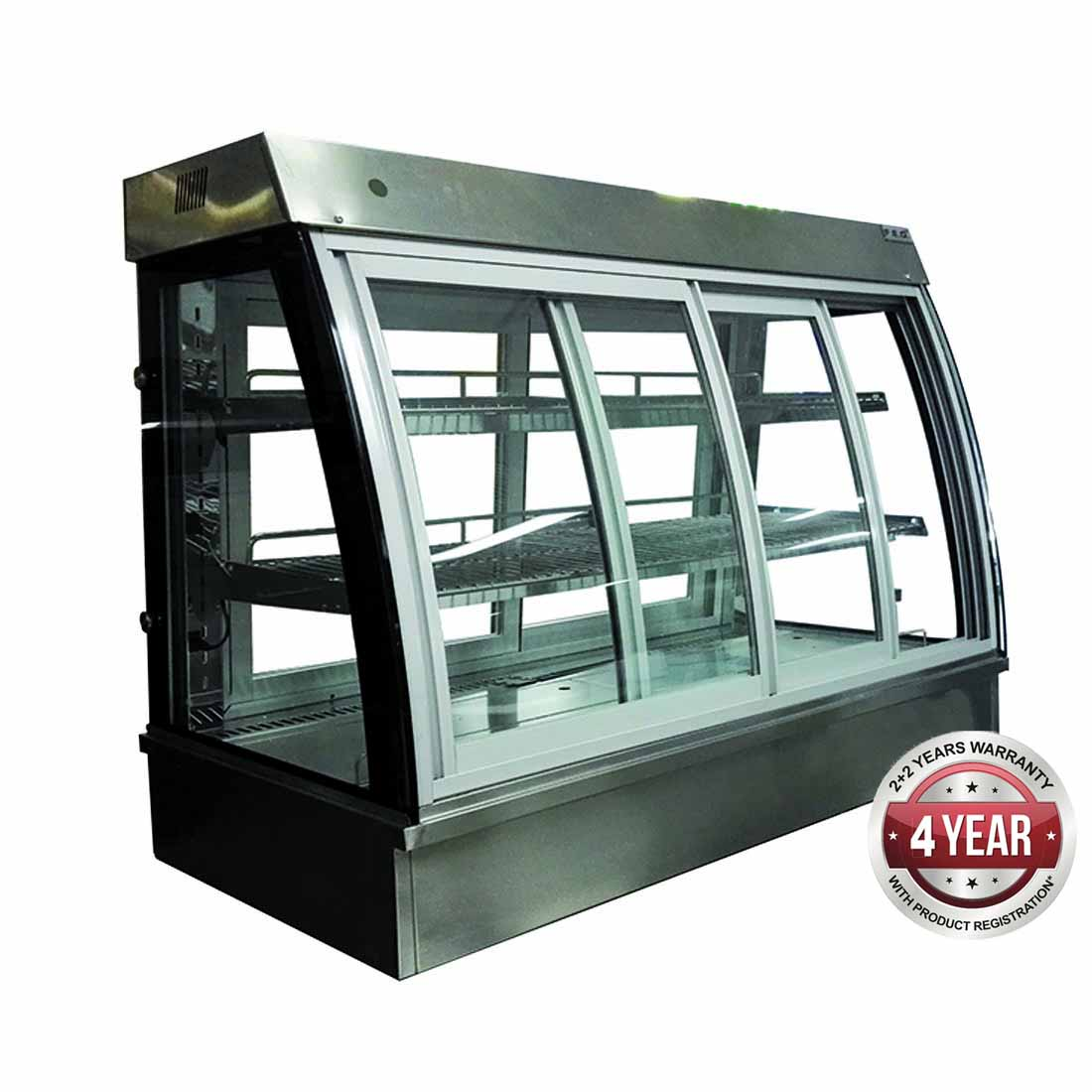 C4HT12 Bonvue Drop-In Counter Top Display Heated C4HT Series