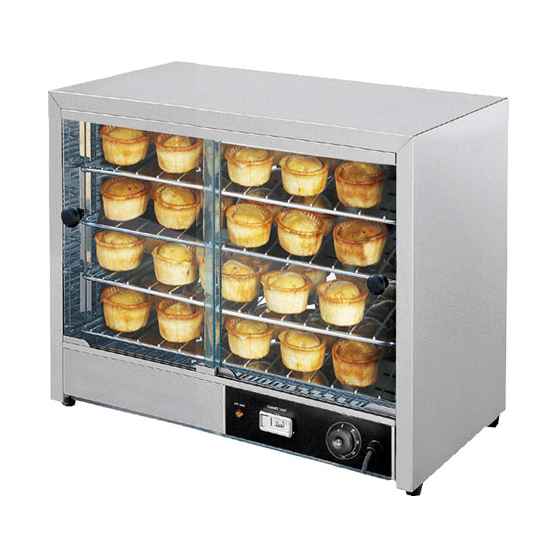 Pie Warmer & Hot Food Display - DH-580E