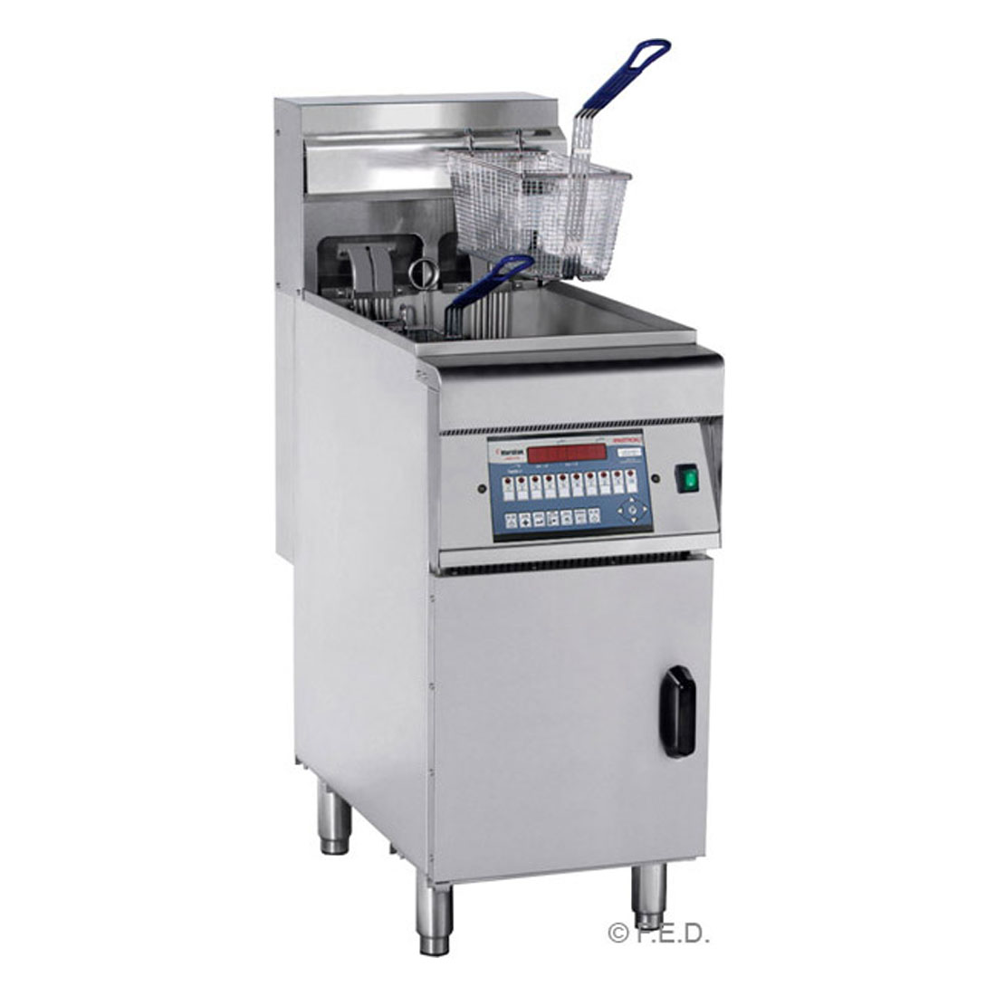 DZL-28 - COMPUTERISED ELECTRIC FRYER with COLD ZONE