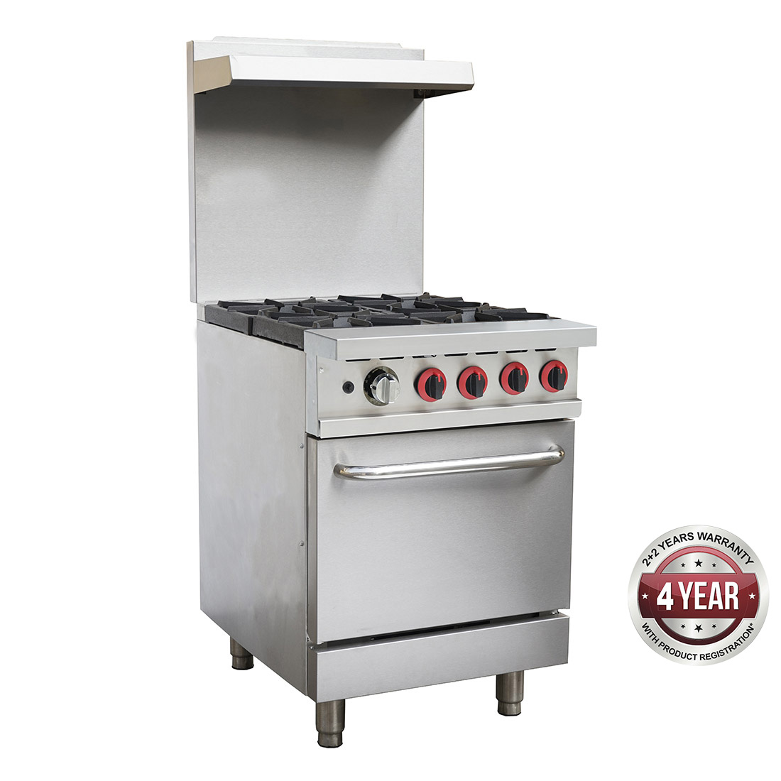 GBS4TLPG Gasmax 4 Burner With Oven Flame Failure