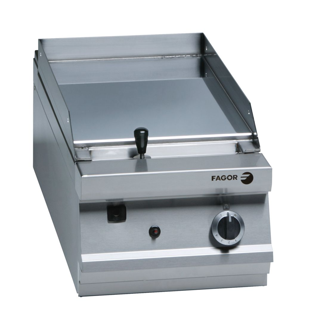 Fagor 900 series natural gas chrome 1 zone fry top FTG-C9-05L