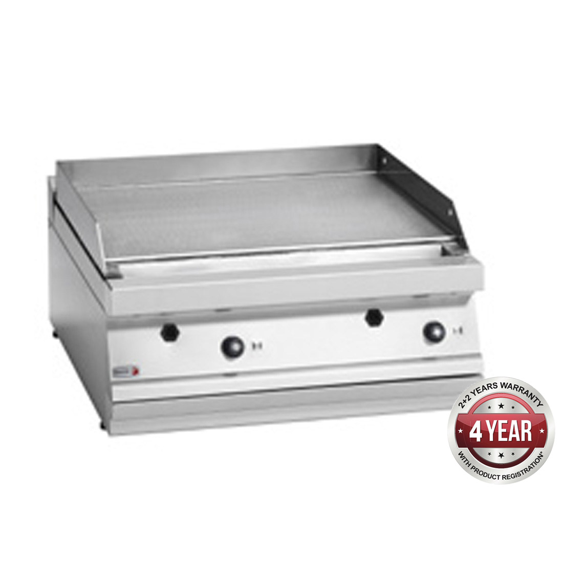 Fagor 700 series natural gas mild steel 2 zone fry top FTG7-10L