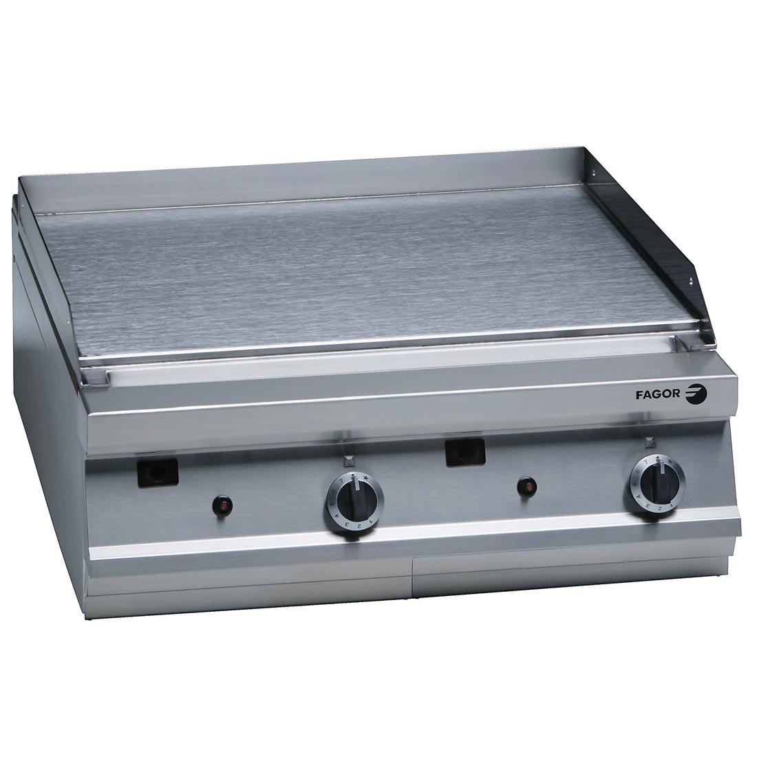 Fagor 900 series natural gas mild steel 2 zone fry top FTG9-10L
