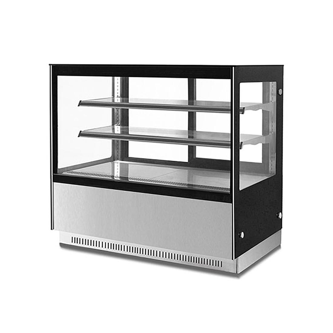 Modern 2 Shelves Cake or Food Display - GN-1500RF2