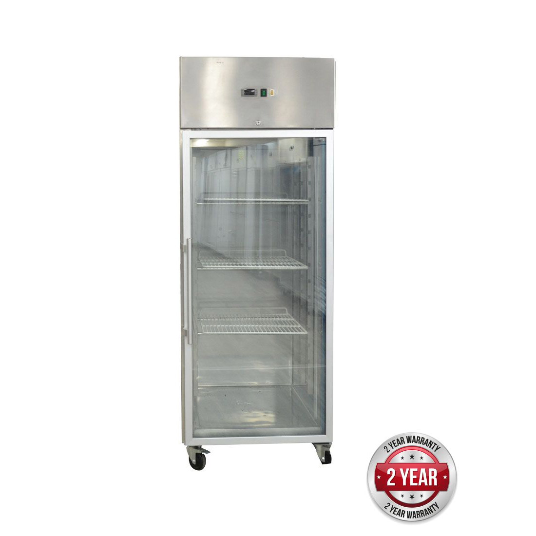 GN650TNG GRAND ULTRA Single Glass Door Upright Fridge 685L