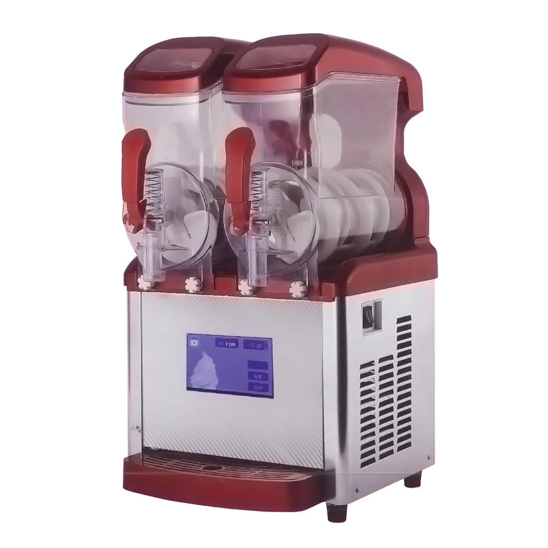 Slushy / Frappe machine double bowl -Double x 8 Litre - ICE8L-2