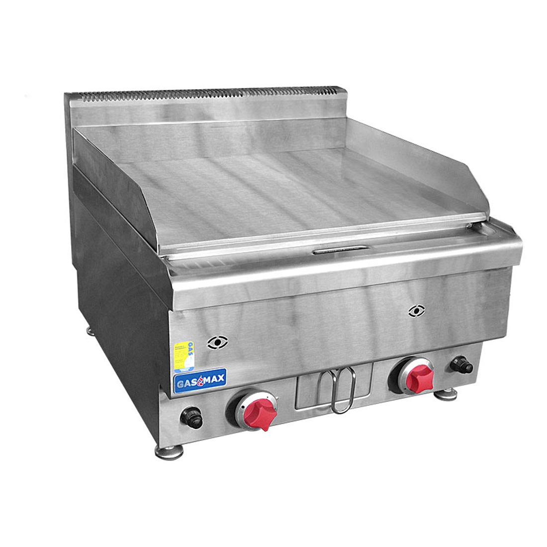 JUS-TRG60 GASMAX Benchtop 2 Bunner Griddle 600mm