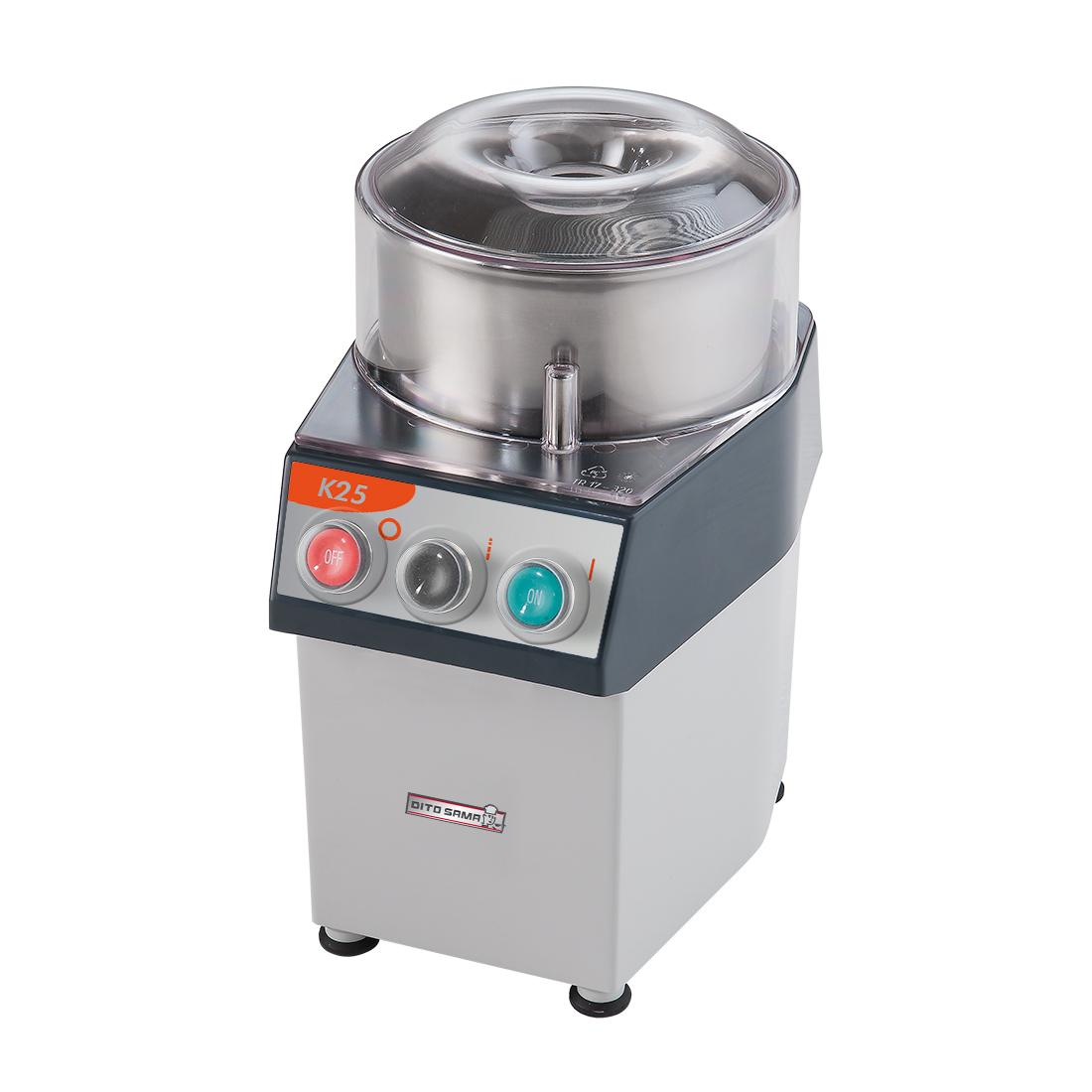 Dito Sama Food processor 2.5 litre single speed 370w - K25
