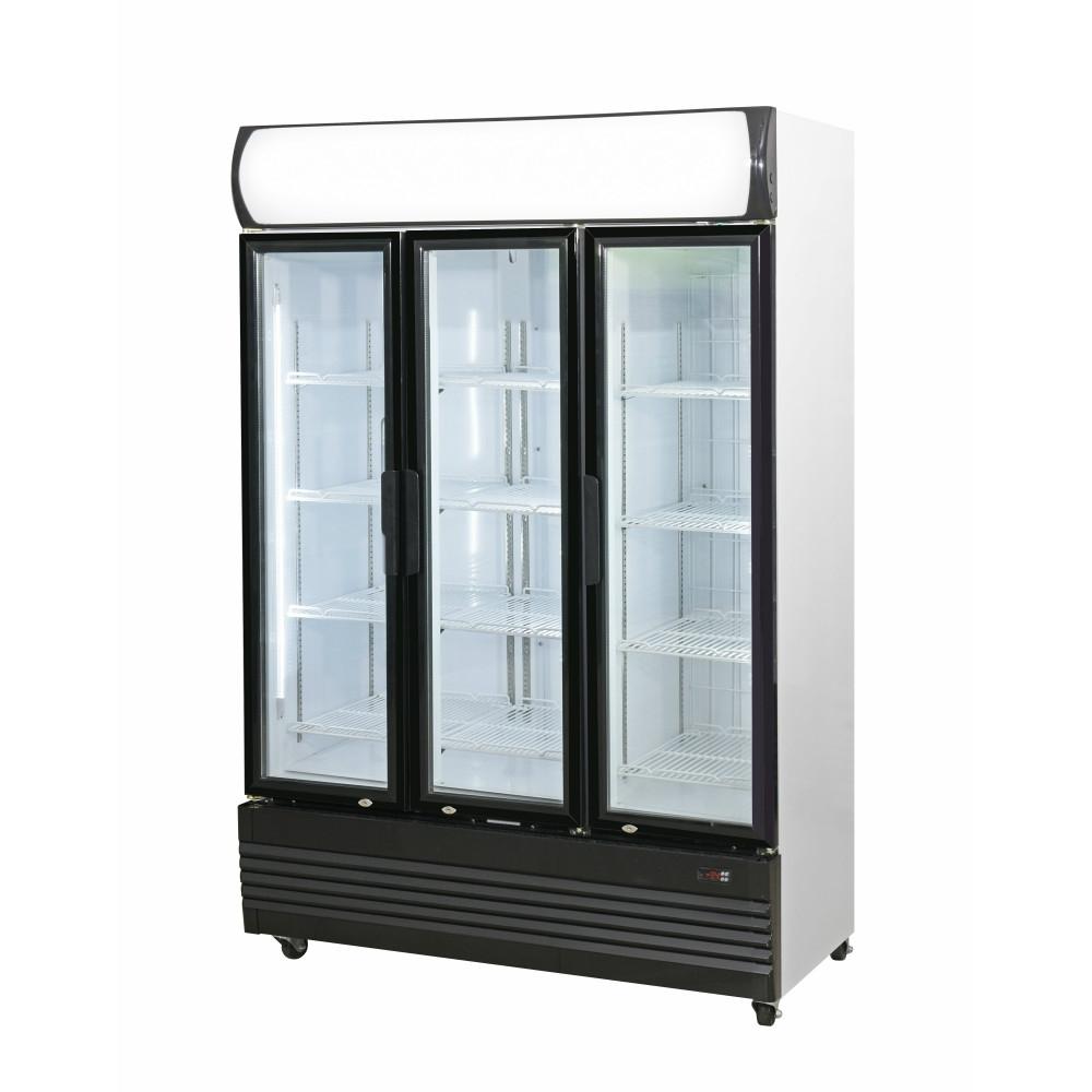 Triple Door Upright Glass Door Combined Fridge & Freezer LG-1200GEF