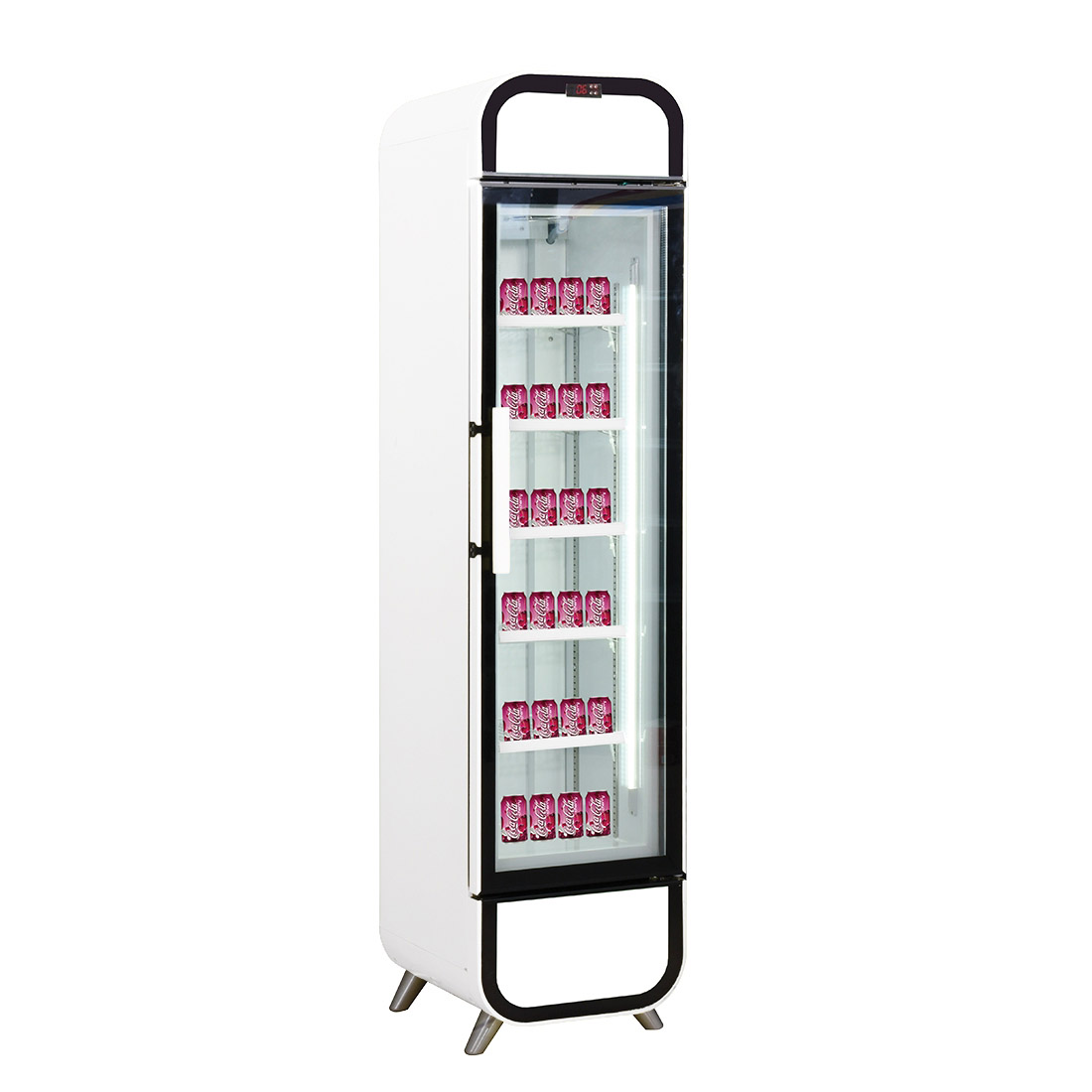 LG-180GE Single glass door colourbond upright drink fridge