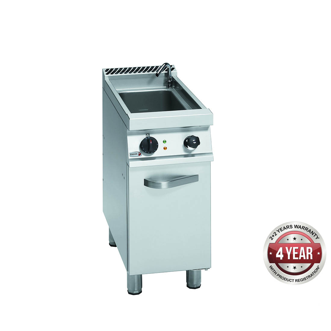 Fagor 700 series natural gas pasta cooker with cast iron burners CPG7-05