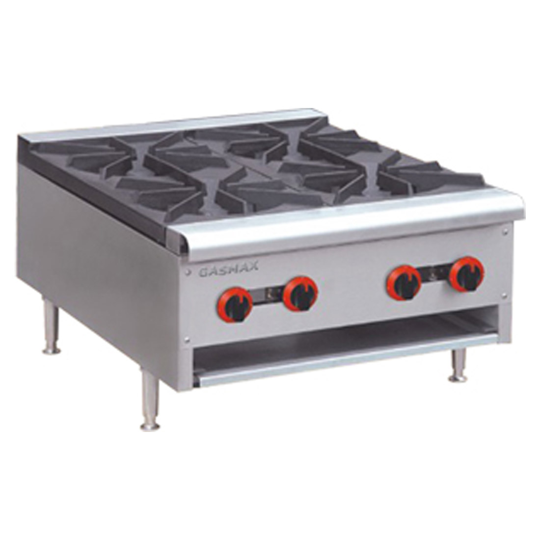RB-4(R) Heavy Duty Four Burners Hob