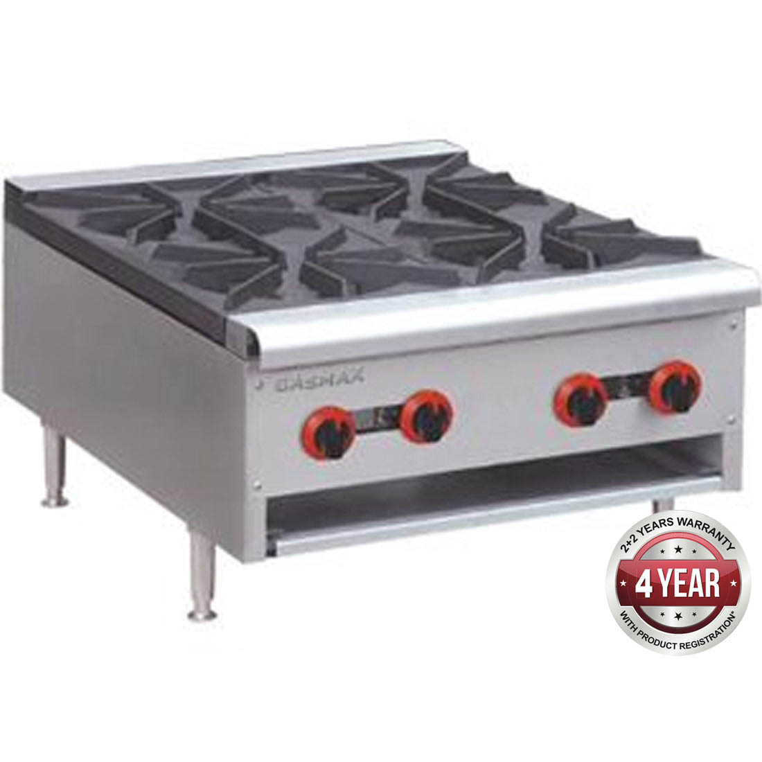 Gas Cook top 4 burner with Flame Failure - RB-4E