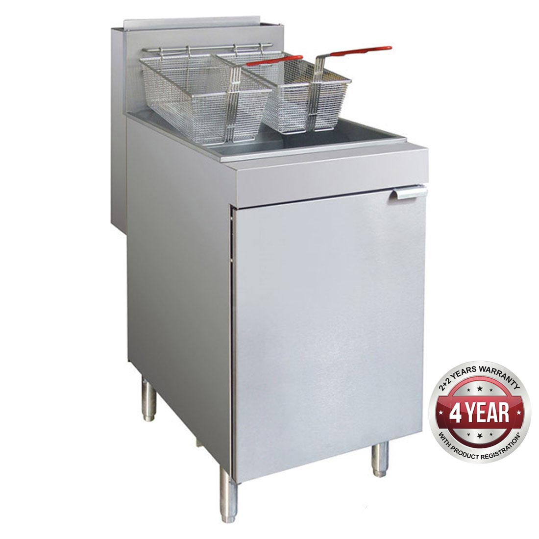 RC300ELPG - Superfast LPG Gas Tube Fryer