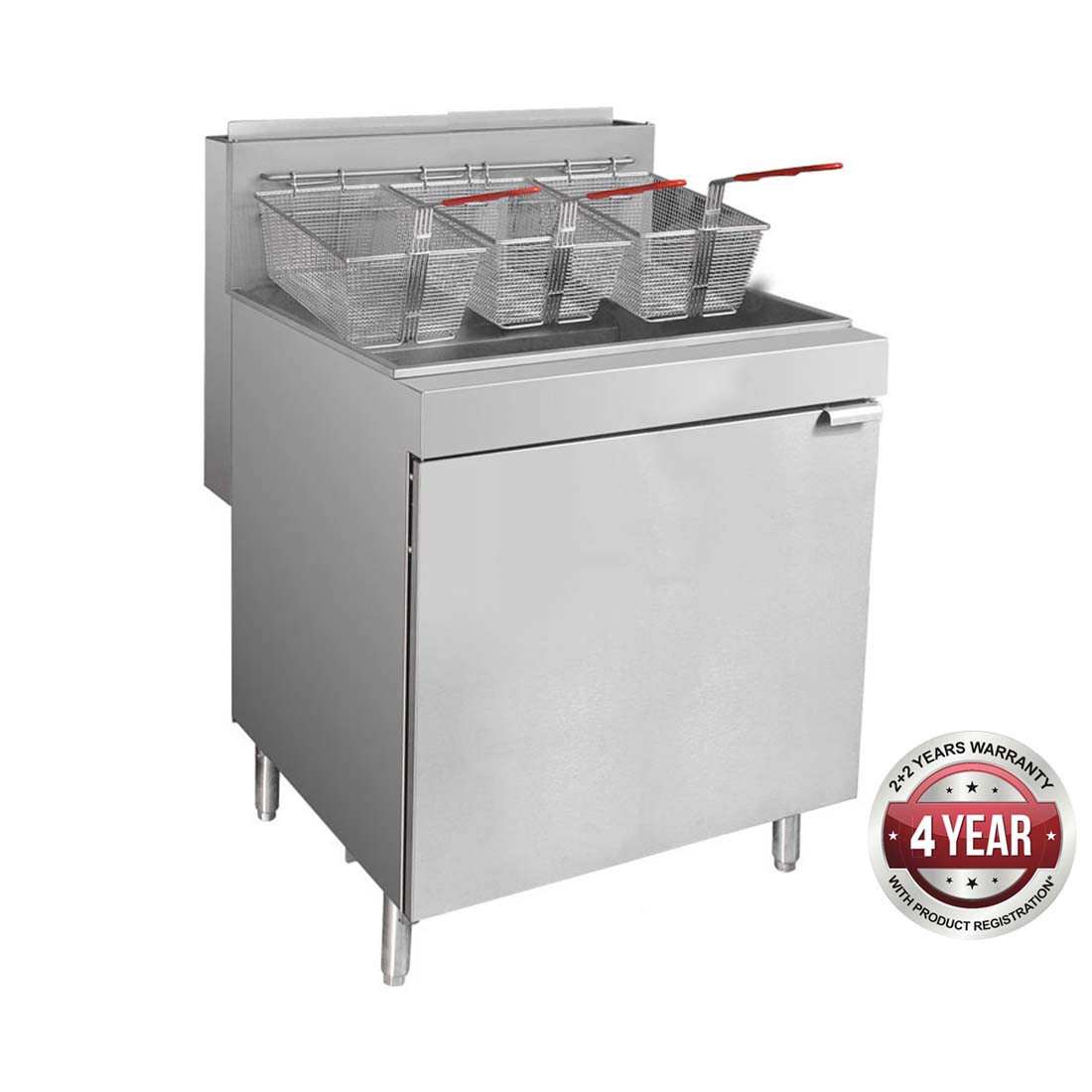 RC500E - Superfast Natural Gas Tube Fryer