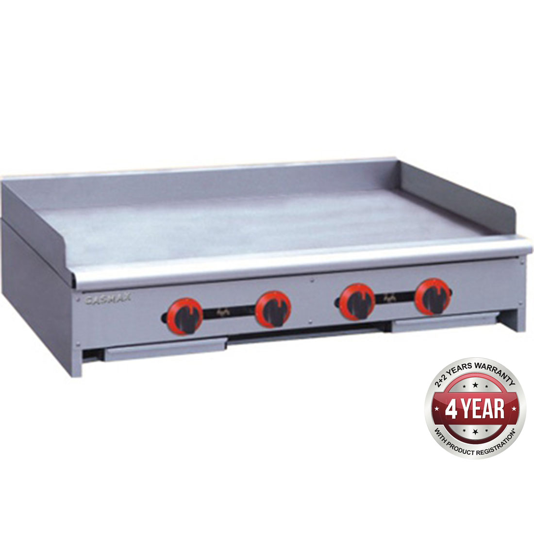 RGT-48ELPG Four burner griddle LPG