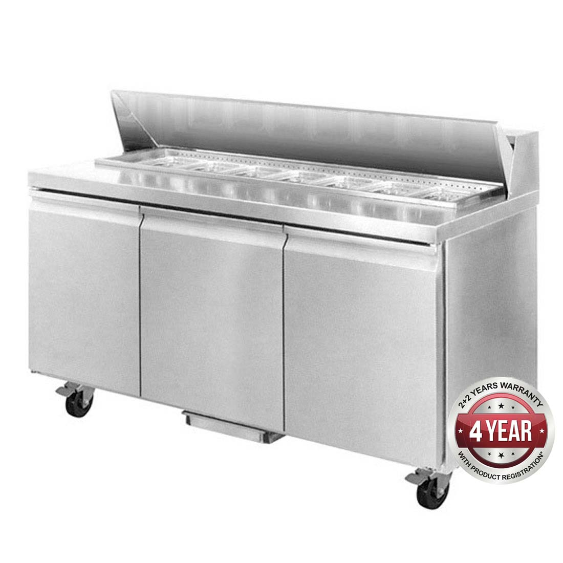 SLB150 three door Sandwich Bar
