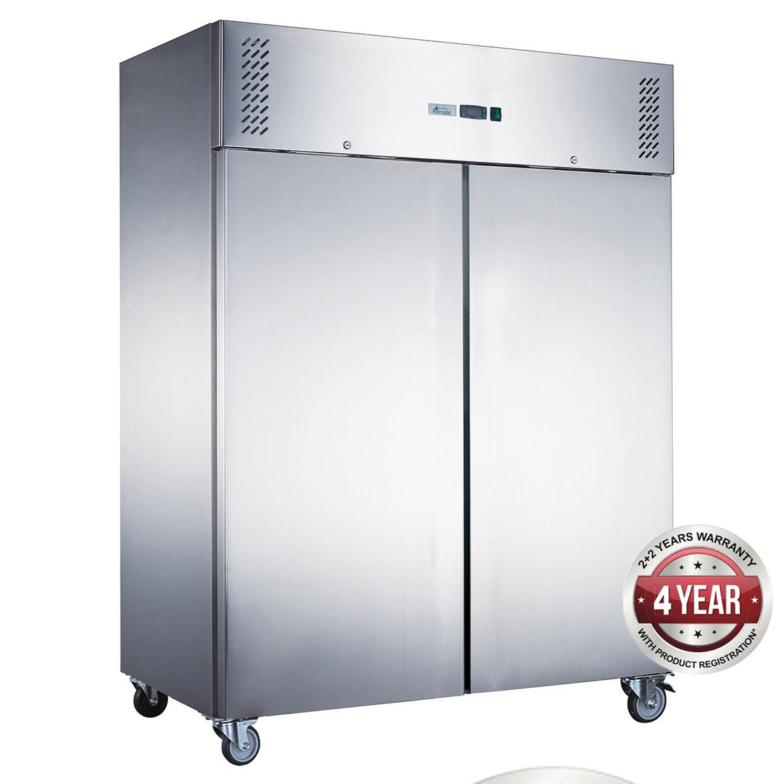 FED-X S/S Double Door Upright Freezer - XURF1200SFV