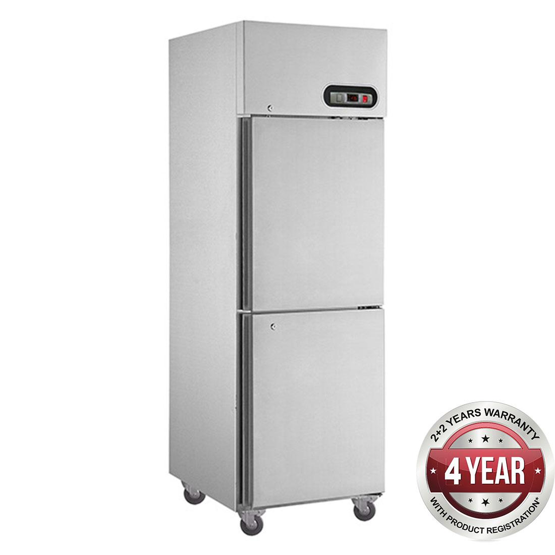 SUF500 TROPICAL Thermaster 2 x ½ door SS Freezer