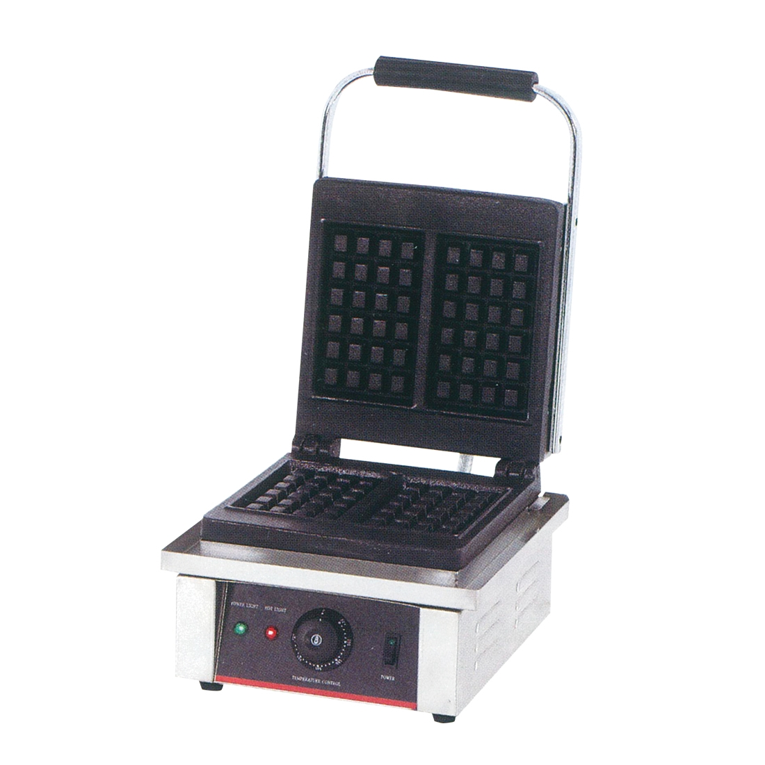 Electric Square Waffle Maker Single 2kw - TCG-801WKW