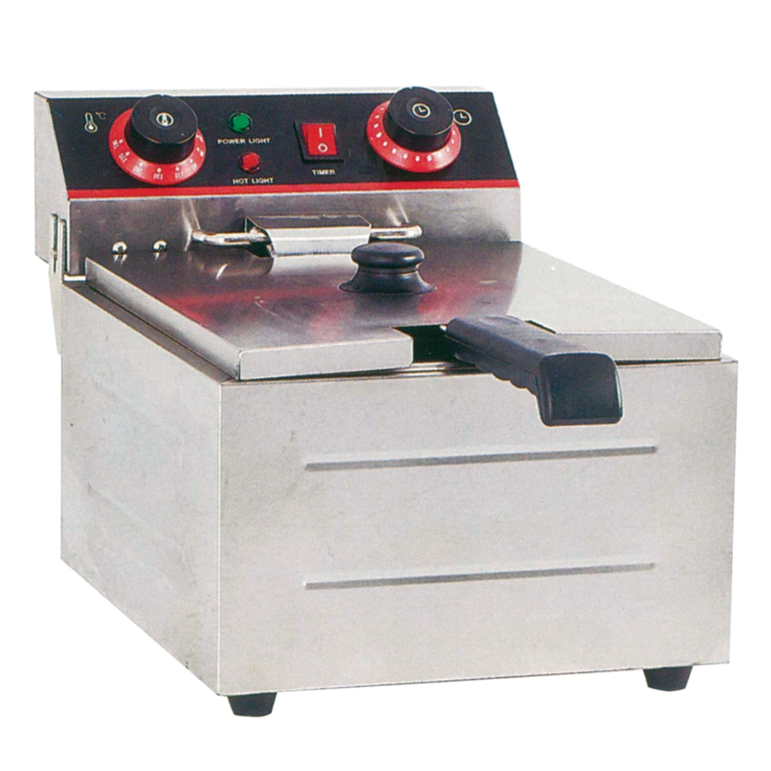 Electmax Single Tank Electric Benchtop Fryer 3kw - TEF-101KW