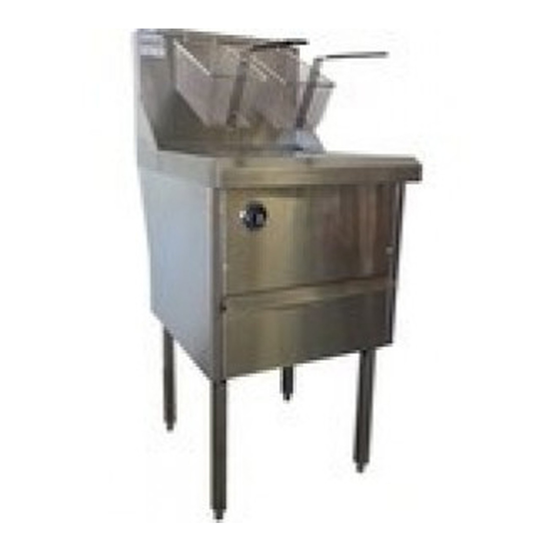 Gas Fish and Chips Fryer Single Fryer - WFS-1/22