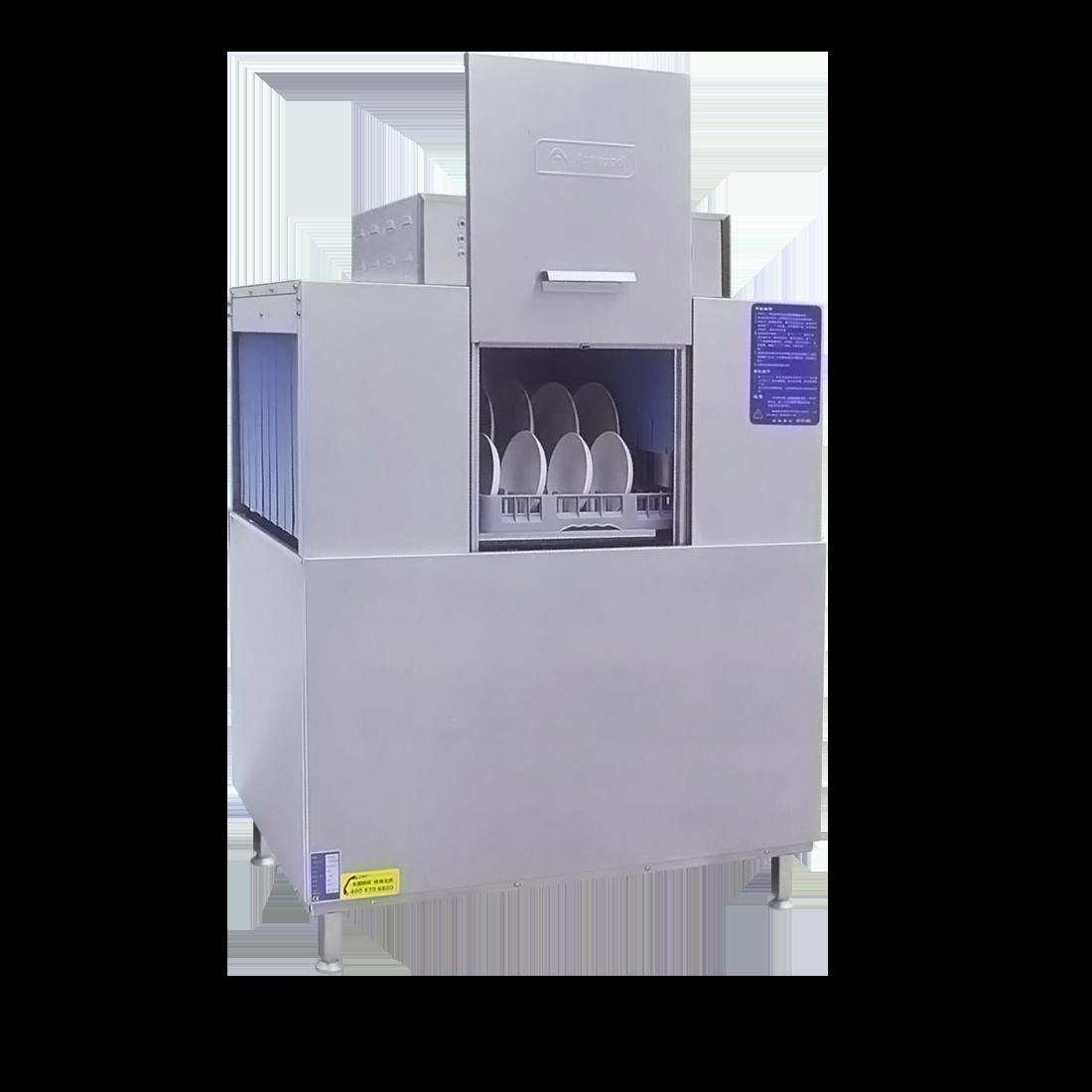 Single tank rack conveyor dishwasher - AXE-A12J