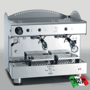 BZC2013S2EAF Bezzera Compact Espresso Coffee Machine 2 Group + Auto-foamer