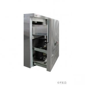 SCB/18 two large door DELUXE Sandwich Bar