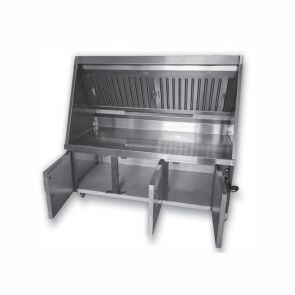 Range Hood and Workbench System - HB1500-750