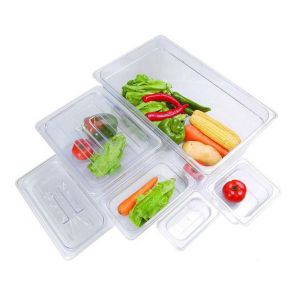 Clear Poly 1/6 Gastronorm Pan
