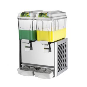 Double Bowl Juice Dispenser - KF12L-2