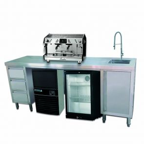 Multipurpose Utility Bench with Sink - SS6-2100R-H