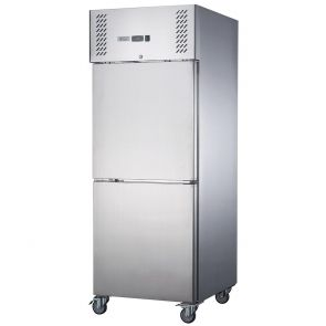 FED-X S/S Two Door Upright Fridge - XURC600S1V