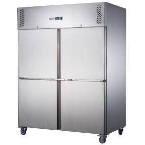 FED-X S/S Four Door Upright Freezer - XURF1200S2V
