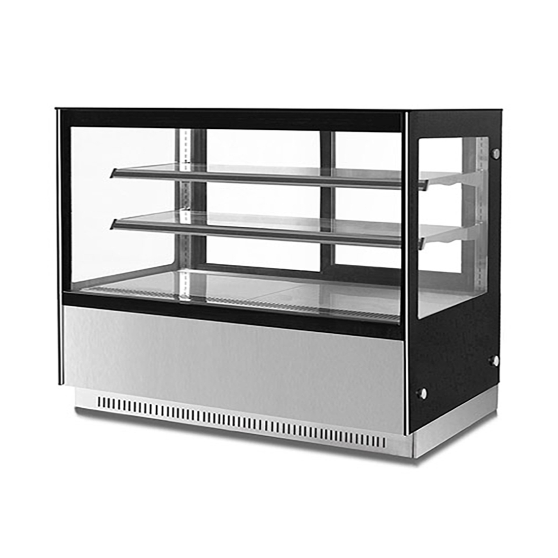 Modern 2 Shelves Cake or Food Display - GN-1800RF2