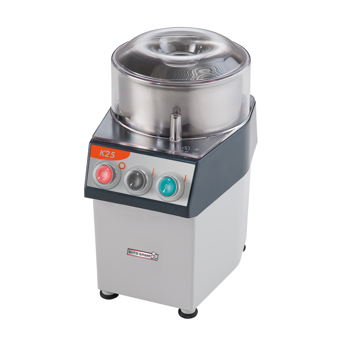 Dito Sama Food processor 2.5 litre single speed 370w - K25