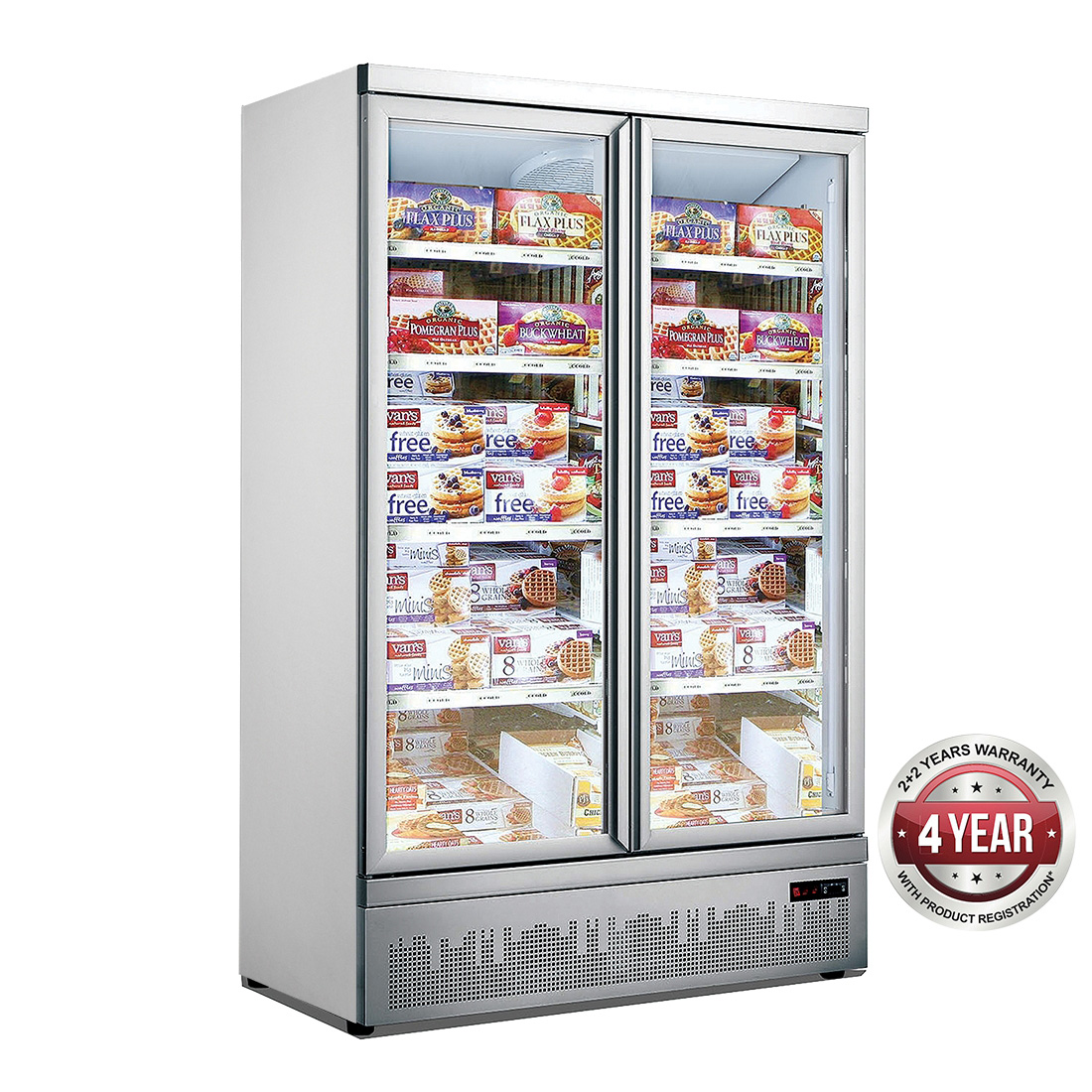 Double Door Supermarket Freezer - LG-1000GBMF
