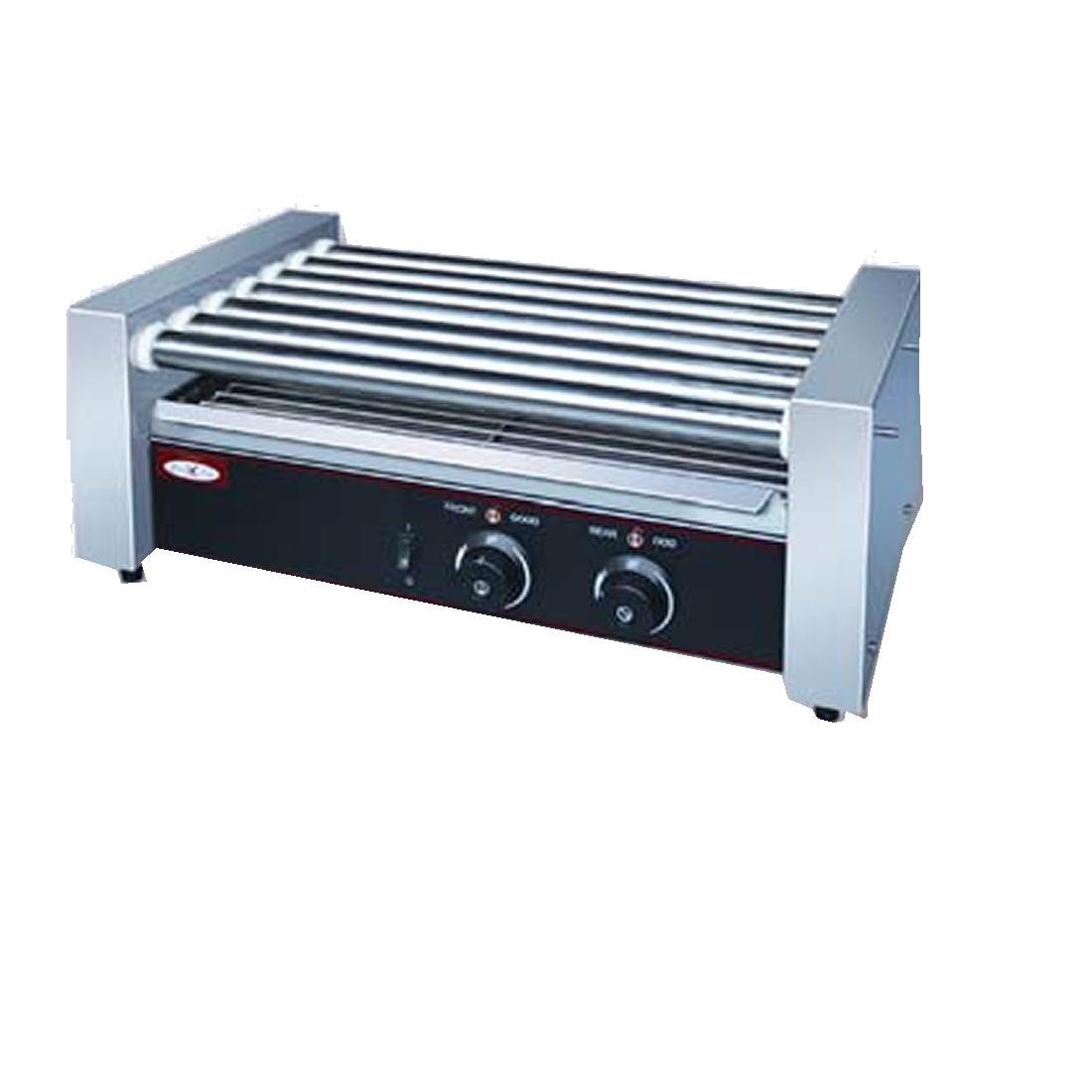 Rolling hotdog grill 9 rollers - THD-09KW