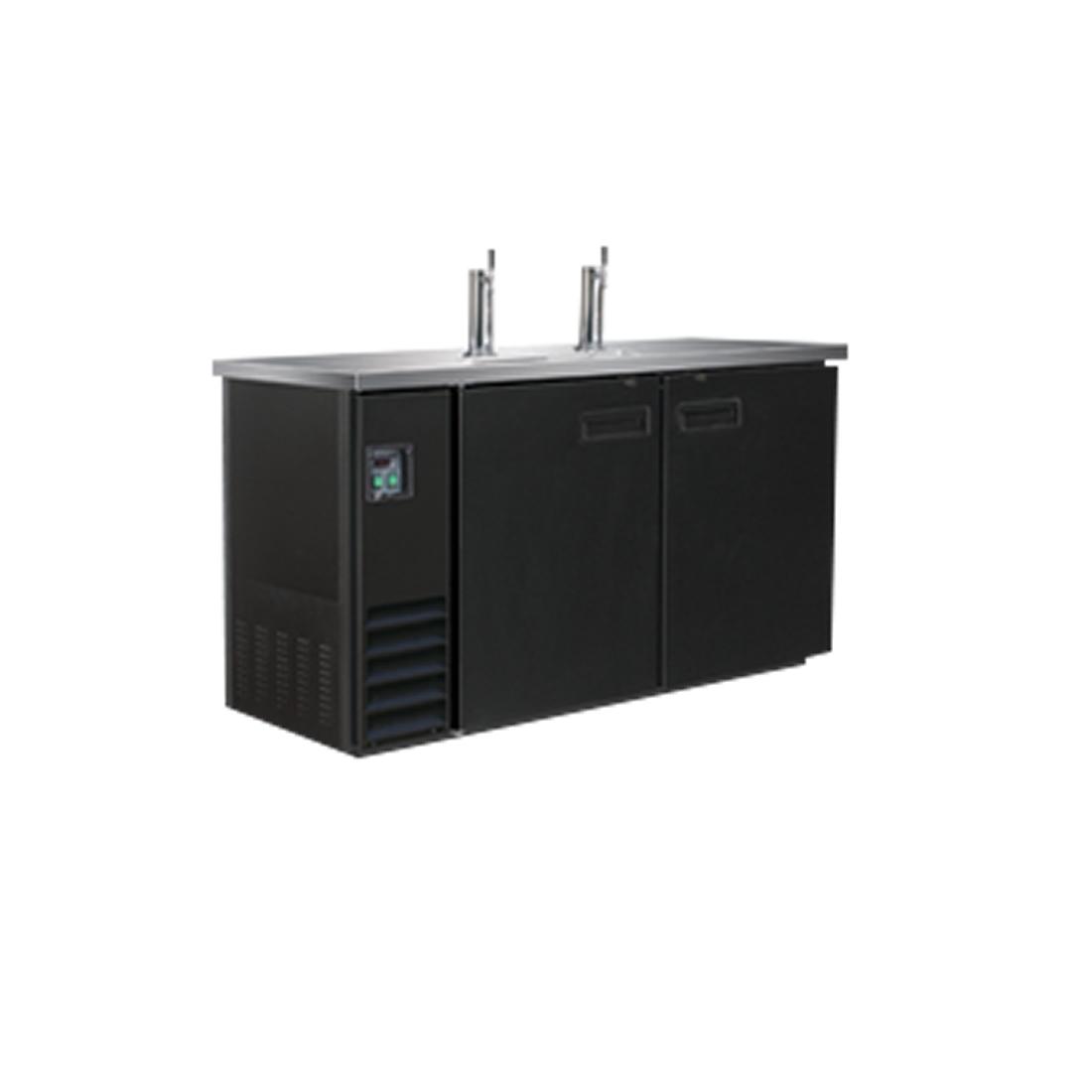 Double Door Underbar direct draw dispenser 2-barrel UBD-2