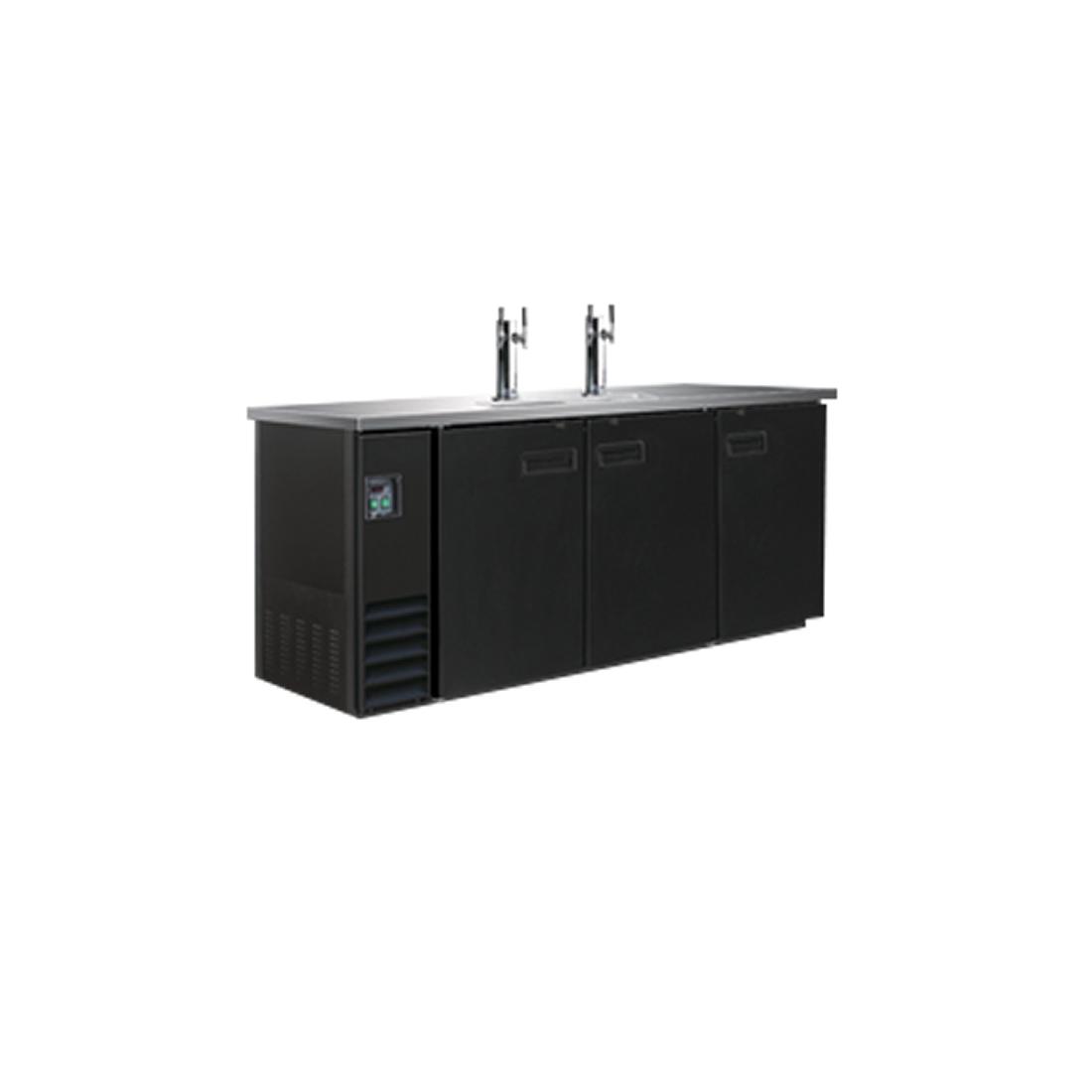 Triple Door Underbar direct draw dispenser 3-barrel - UBD-3