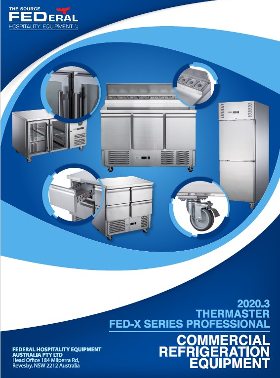 FED-X Series Commercial Refrigeration