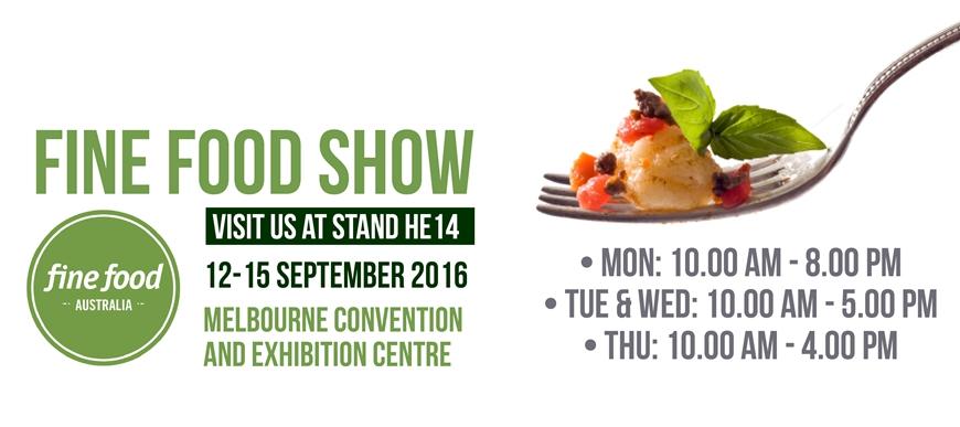 Fine Food Show Australia 2016