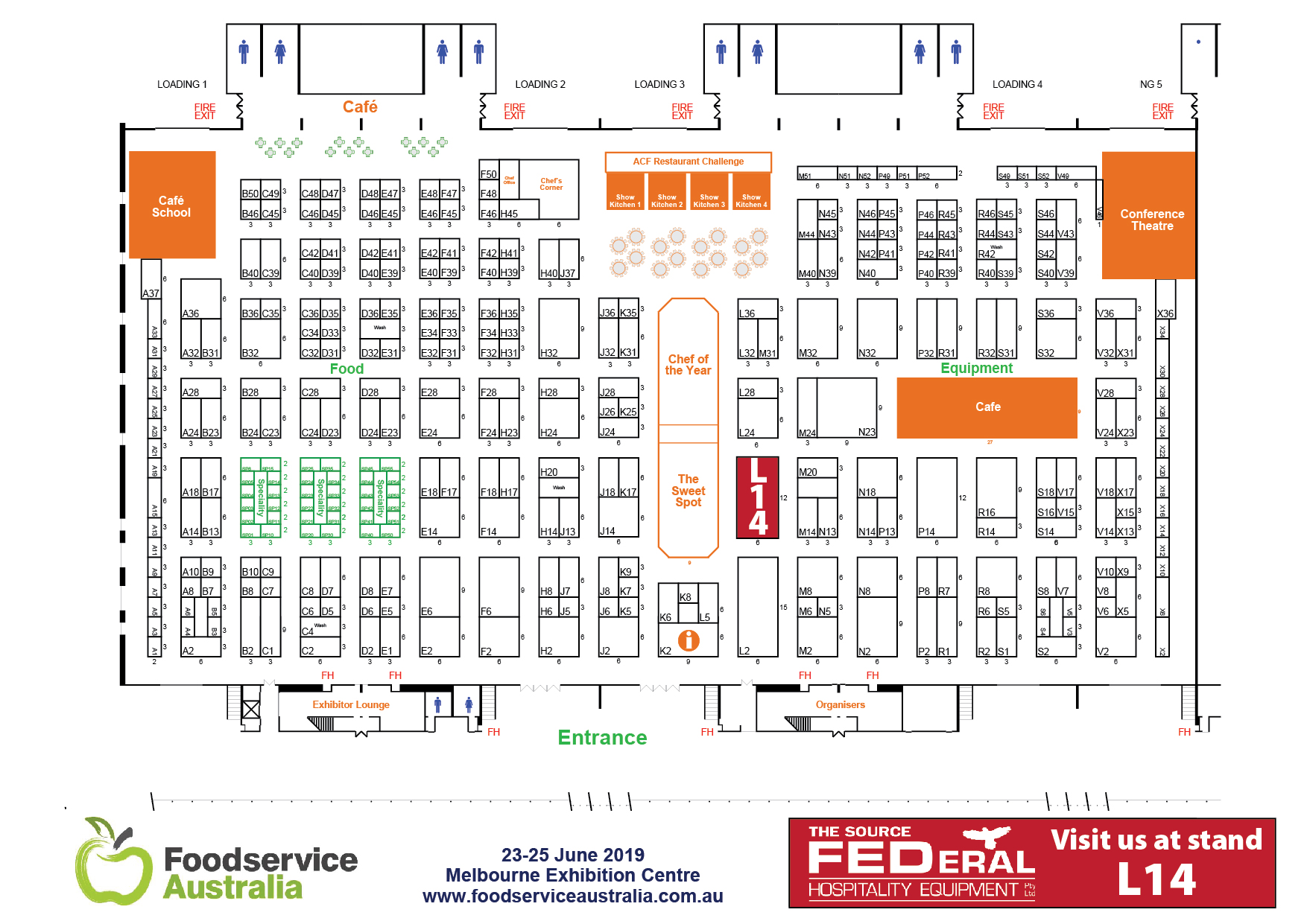 Foodservice show fed FED