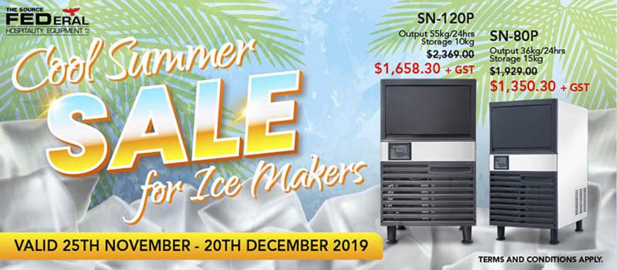 F.E.D. Ice Maker Promotion 2019