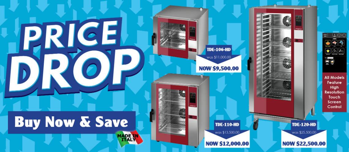 Combi Oven Price Drop 2019